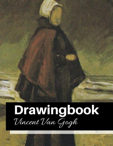 drawingbook vincent van gogh drawingbookdrawing book for adultsall blank sketchbookvan gogh notebook volume 23