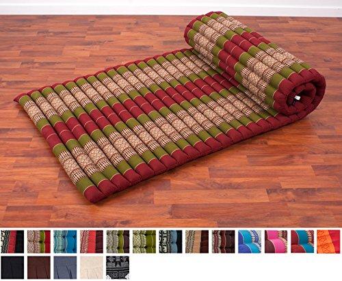 Leewadee Roll Up Thai Mattress 79x30x2 Inches Kapok