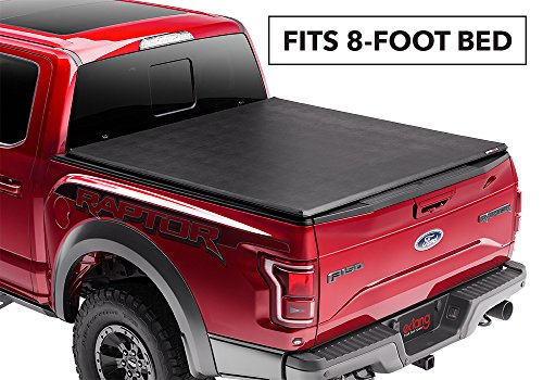 Extang 92725 Trifecta 2.0 Folding Tonneau Cover - fits Super Duty Long Bed (8 ft) (Ford Super Duty Long Bed)