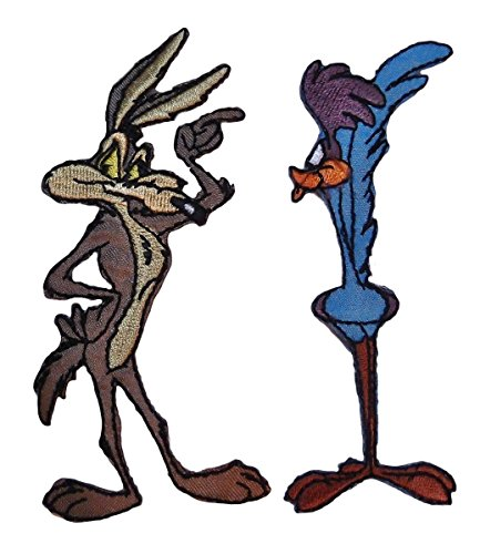 wile-e-coyote-roadrunner-2-piece-set-embroidered-patches