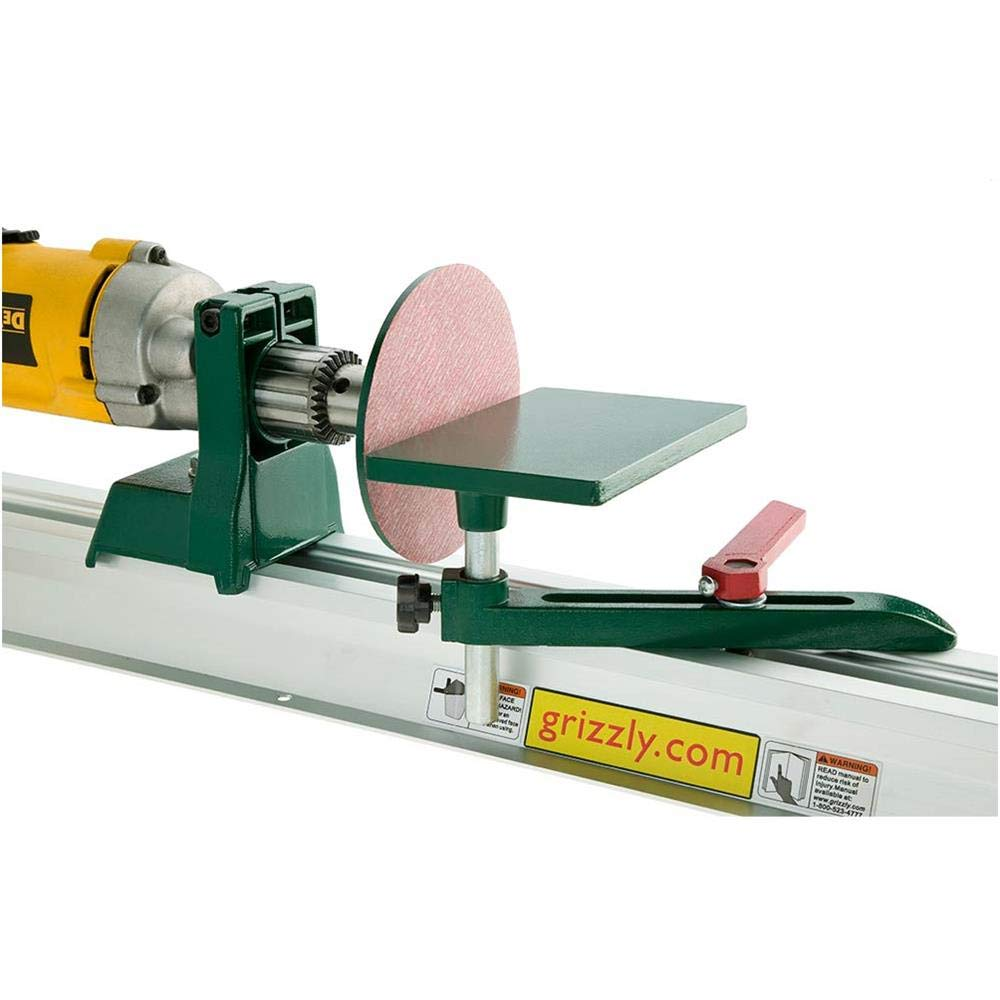 Grizzly H2669 Hobby Lathe/Disc Sander by Grizzly (Image #2)