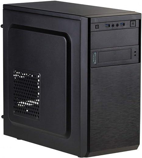 Akyga AK17BK - Caja compacta para PC (Micro Tower 2X USB 3.0 ...