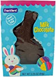 Solid Milk Chocolate Easter Bunny for Baskets, 2.25 oz