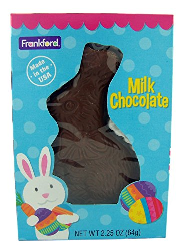 Solid Milk Chocolate Easter Bunny for Baskets, 2.25 (Easter Bunny Milk)