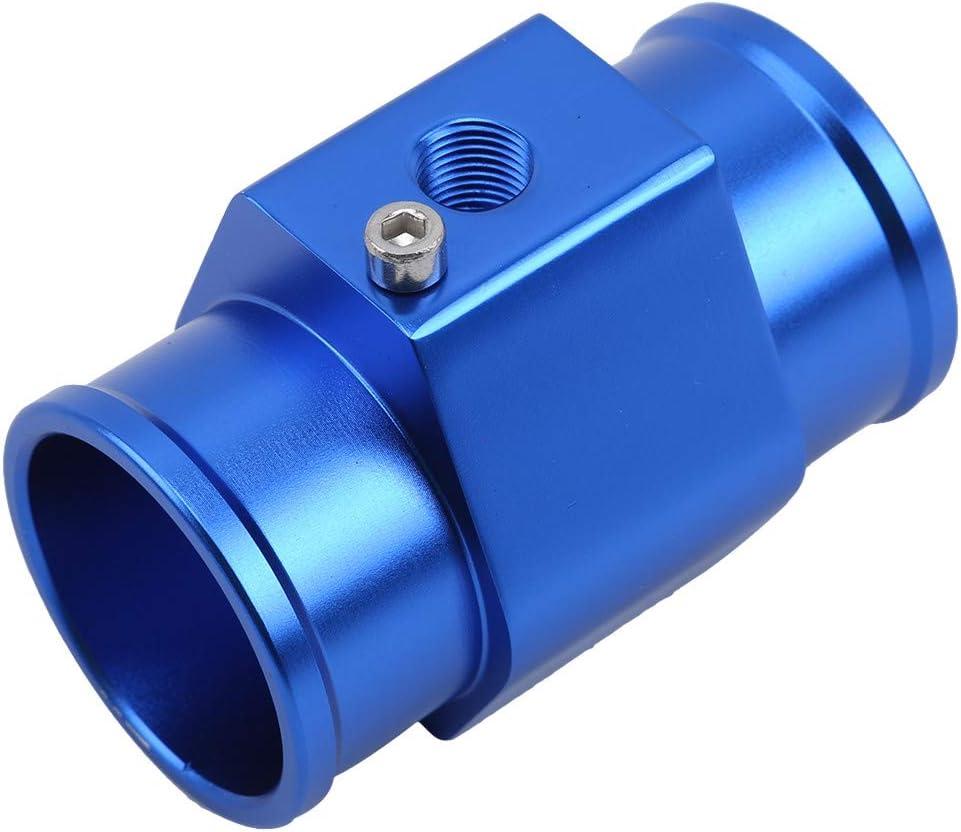 LWANFEI Aluminium Auto Wassertemperatur Joint Rohr Sensor Manometer K/ühlerschlauch Adapter Zeigen