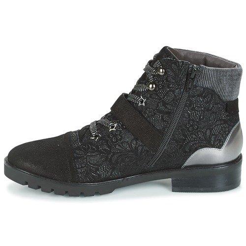 Zelle Argent Femme Mam YIALA Boots Noir 1dx6fwnU6q