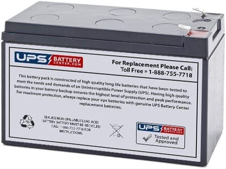 Replacement Battery by UPS Battery Center CPS650SL Compatible