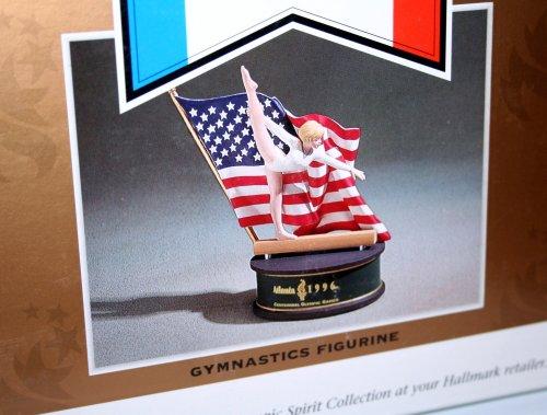 Hallmark Gymnastics Figurine Atlanta 1996 Centennial Olympic Games