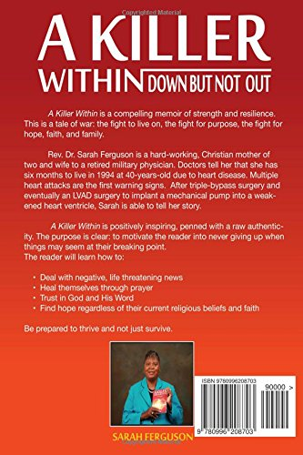 A Killer Within  Down But Not Out : Sarah Ferguson, Rakia Clark