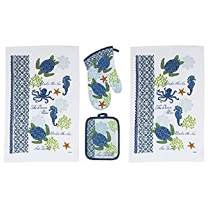 51VbA12QTaL._SS300_ 50+ Beach Hand Towels and Nautical Hand Towels For 2020