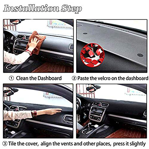 Dash Covers Interior Accessories Hanlanka Black Carpet Dash