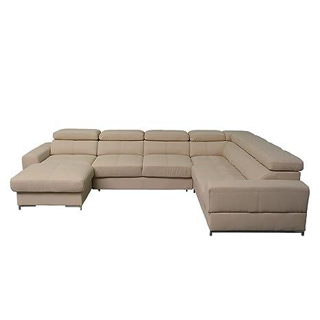Amazon.com: BAZALT Large Sleeper Sectional, Left Corner ...