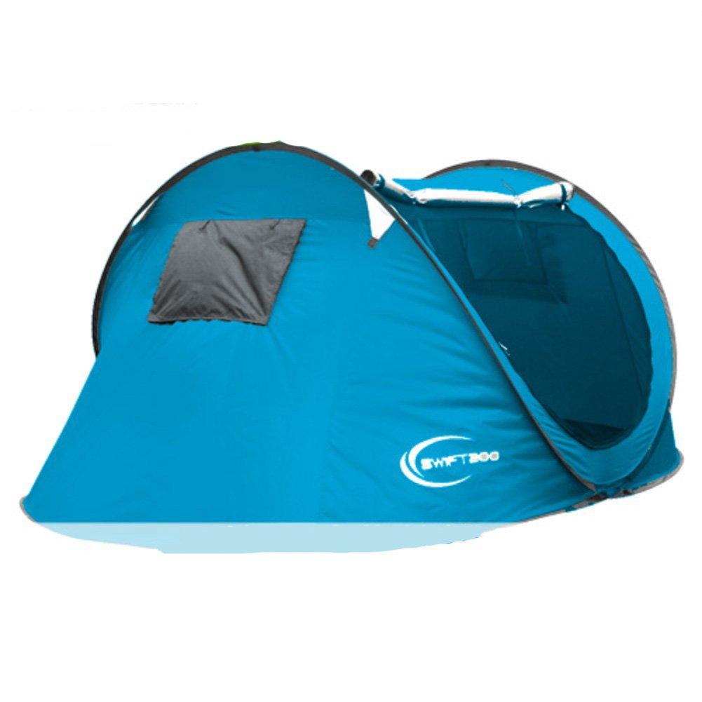 TY&WJ Vollautomatische Familienzelt,Portable Faltung Kuppelzelte Für Outdoor-sportarten Reise Wandern Zelte 3-4 Personen