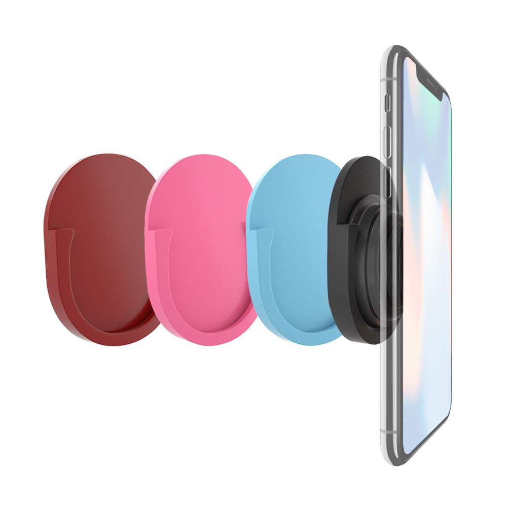 Kitchen Home DegGod 4 Pack Phone Universal Car Mount for Phone Grip Stand and Grips Office Soft Silicon Phone Mount Holder Use for in Car