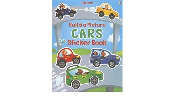 Build A Picture Cars Sticker Book Build A Picture Sticker Books
