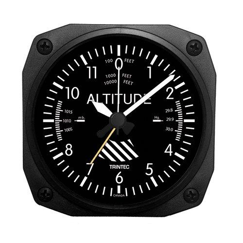 (Trintec Aviation Altitude Altimeter Alarm Clock - DM60)