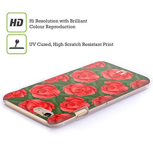 Head Case Designs Pattern Rose Cover Retro Rigida per Apple iPhone 7 Plus / 8 Plus