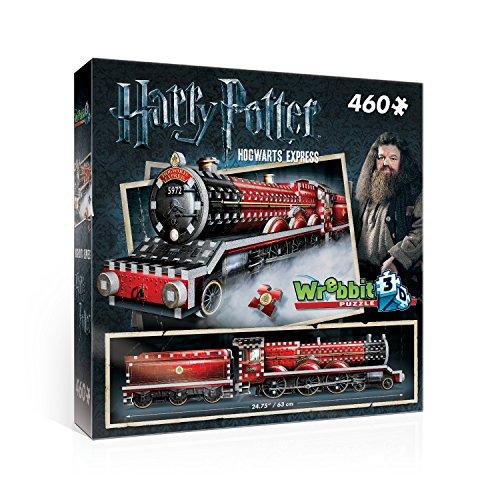 WREBBIT 3D Hogwarts Express 3D Jigsaw Puzzle (460 Pieces)