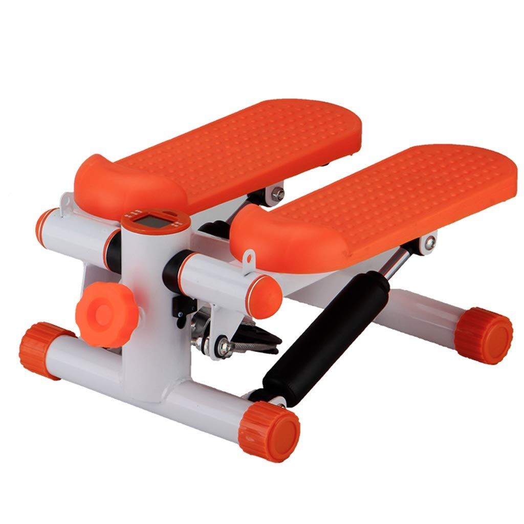 家庭用減量マシン、ステッパーインサイド登山フットマシン多機能フィットネス機器ストーブパイプマシン43 * 30 * 20CM  Orange B07GNHCQ8W