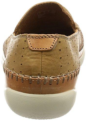 Clarks Casual Hombre Zapatos Veho Apron En Piel Marrón