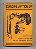 img - for Europe after 8:15, book / textbook / text book