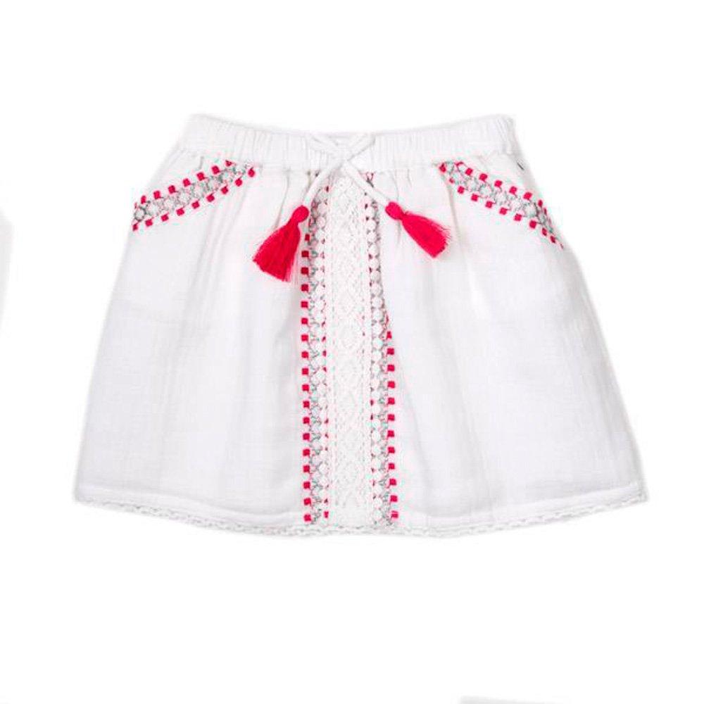 Ubs2 Falda Blanca Niña 3-10 Años: Amazon.es: Ropa y accesorios