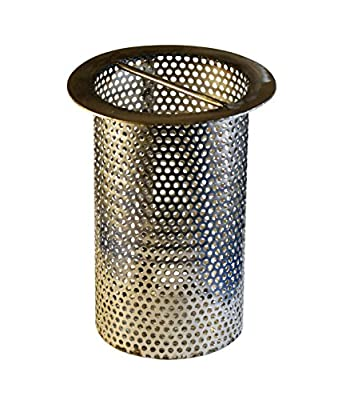 4u0026quot; Commercial Floor Drain Strainer, Perforated Stainless Steel, ...
