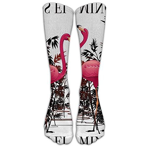 Unisex Knee High Long Socks Flamingle With Me I'm The Bride To Be School Uniform High Long Stockings ZHONGJIAN from ZHONGJIAN