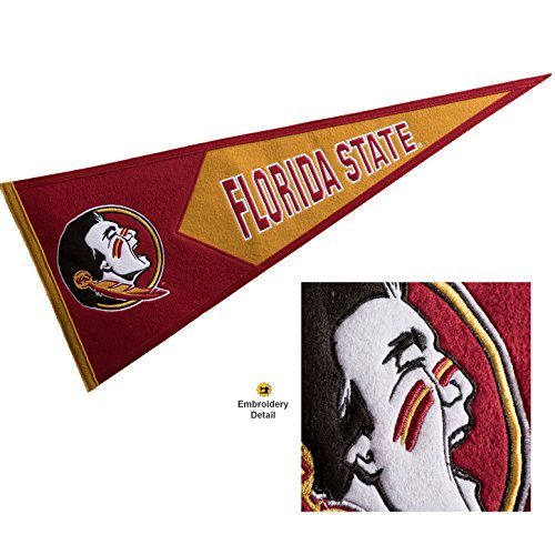 Winning Streak Florida State Seminoles Wool Embroidered and Sewn Pennant