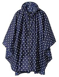 ITSMN Raincoats for Women Waterproof with Hood Lightweight Hiking Rain Jacket Poncho