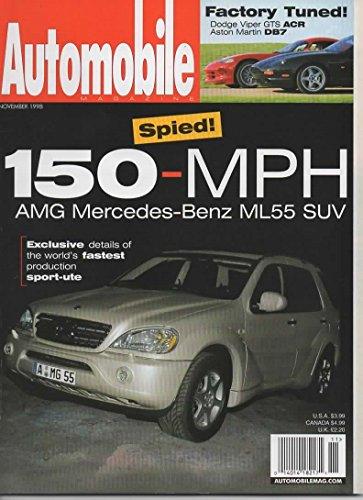 Automobile Magazine, November 1998 (Vol 13 No 8)