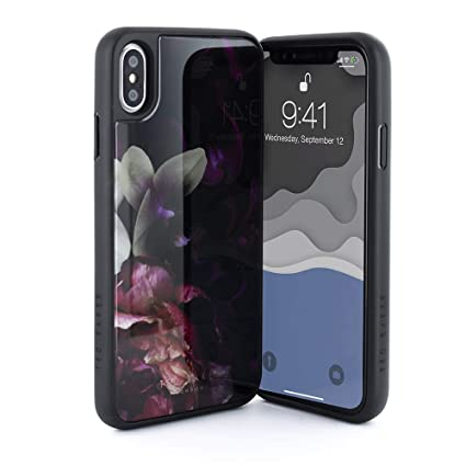 Ted Baker Fashion HD Glass Case for iPhone Xs Max, Protective Cover iPhone Xs Max for Professional Women/Girls- Splendour