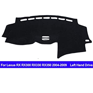 AUCD Car Dashboard Cover Dash Mat for Lexus RX RX300 RX330 RX350 2004-2006 2007 2008 2009 Non-Slip Sun Shade Pad Carpet Anti-UV