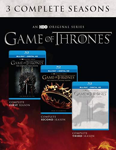 Game Of Thrones: Seasons 1-3 [Blu-ray] (Game Of Thrones Season 3 Blu Ray)