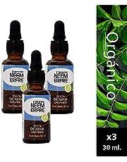 Paquete de 3 - Aceite orgánico de NEEM