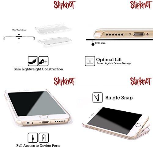 Officiel Slipknot Texte Art Clé Étui Coque D'Arrière Rigide Pour Apple iPhone 5 / 5s / SE