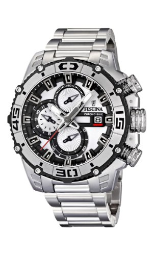 NEW Festina Chronograph Bike TOUR DE FRANCE 2012 Men's Watch F16599/1