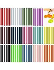 Ewparts 50 Pack Glitter Hot Melt Adhesive Gule Stick 7 x 100mm Multi Color