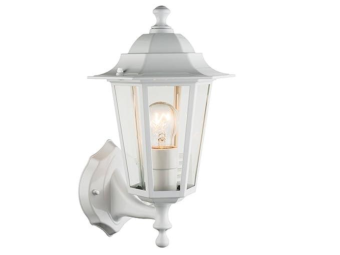 Illuminazione Esterna Lanterna : Lampada da parete lampada da esterno lanterna bianca con led