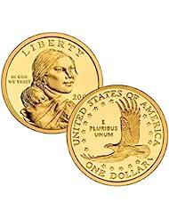 2000 P, D Native American (Sacagawea/Golden) Dollar 2 Coin Set Uncirculated