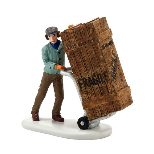 - Department 56 A Christmas Story Village Fragile Delivery Accessory Figurine, 2.875 inch