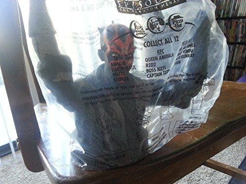Star Wars Episode 1 Cup Topper Set Kfc, Pizza Hut, Taco Bell