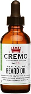 product image for Cremo Revitalizing Beard Oil, Restores Moisture, Softens and Reduces Beard Itch for Facial Hair of All Lengths, Mint Blend Tea Tree Mint 1 Fl Oz