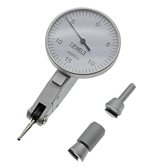 """0005/"""" GR Dial Reading 0-15-0 Yellow New Precision 0.030/"""" Test Indicator 0"""