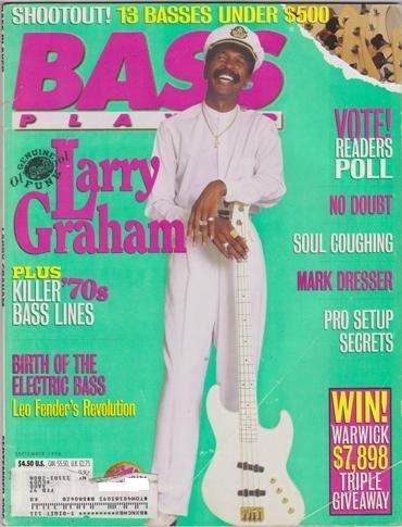 (Bass Player Magazine (September 1996) (Genuine Ol' Funk - Larry Graham - No Doubt - Soul Coughing - Mark Dresser))