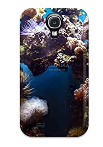 Hot Style CXCweQm2147BDOvj Protective Case Cover For Galaxys4(beautiful Reef Animated )