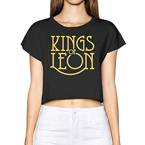zzyy-soft-kings-of-leon-rock-band-word-logo-bare-midriff-womens-basic-short-sleeve-round-collar-blac