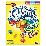 Betty Crocker Gushin Grape/Strawberry Gushers, 6-Count, 138 Gram