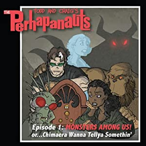 The Perhapanauts Audiobook
