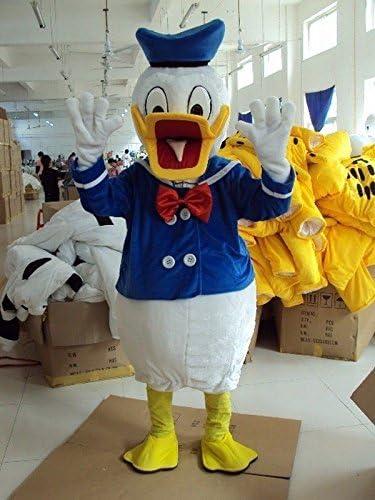 La mascota del pato Donald Traje personaje de dibujos animados ...